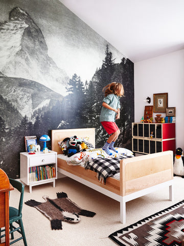 20 awesome boys rooms + 10 cool prints for yours