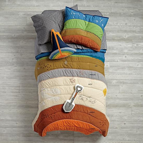 One Tiny Tribe roundup of awesome bedding for a boy's room