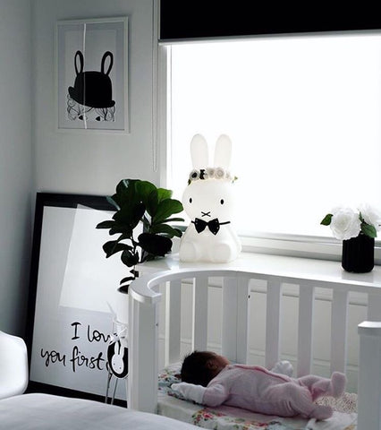 """I loved you first"" print by One Tiny Tribe - perfect for nurseries and home decor. Buy print at www.onetinytribe.com"