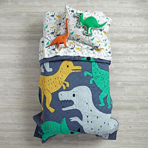 One Tiny Tribe roundup of awesome bedding for a boys room