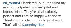 One Tiny Tribe testimonials