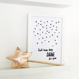 Shine for you - Printable - One Tiny Tribe  - 4