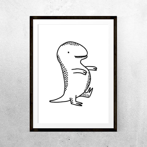 Baby T-Rex - Printable - One Tiny Tribe  - 1