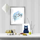Dream big (blue) - Printable - One Tiny Tribe  - 2