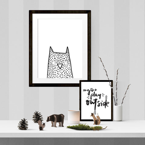Norbert the night owl - Printable - One Tiny Tribe  - 1
