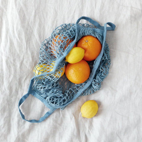 DUSTY BLUE Market Bag