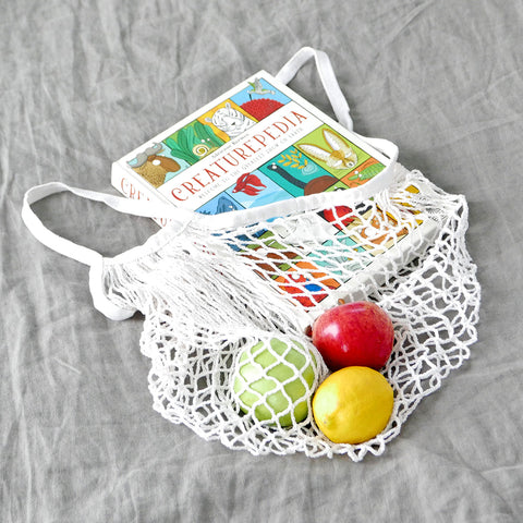 WHITE Market Bag