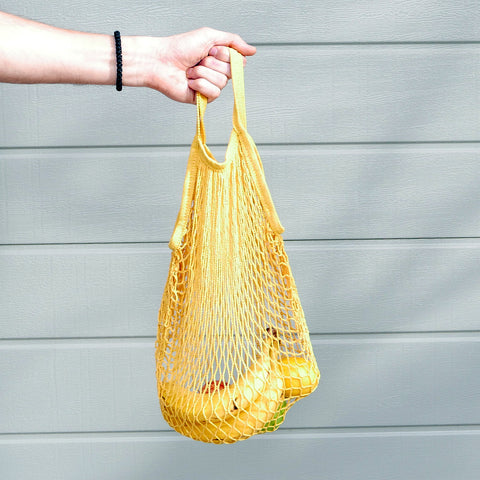 SUNFLOWER YELLOW Market Bag