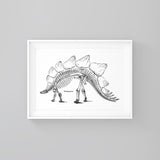 Stegosaurus - Print - One Tiny Tribe  - 1
