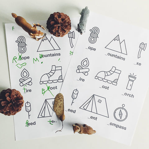 Explorer activity sheet - Printable - One Tiny Tribe