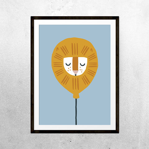 Lion sleeps tonight - Print - One Tiny Tribe  - 1
