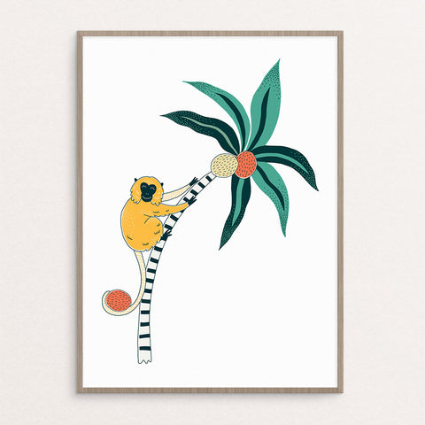 Monkey + Free Tree (printables)