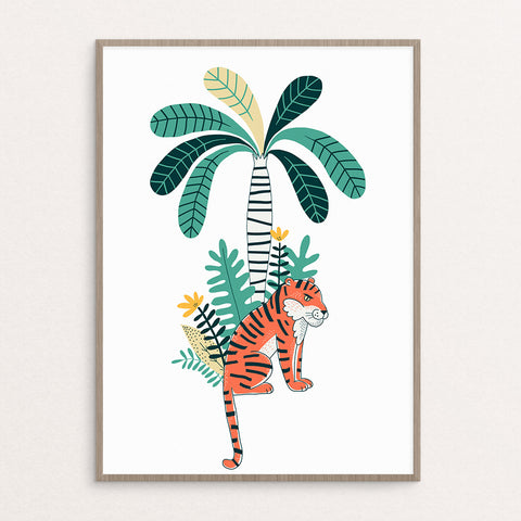 Tiger + Free Tree (printables)
