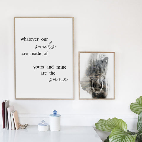 Yours and mine (pre-orders) - Print - One Tiny Tribe