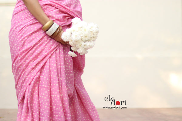 Fly Me To The Stars Saree : Frill Designer Sraee