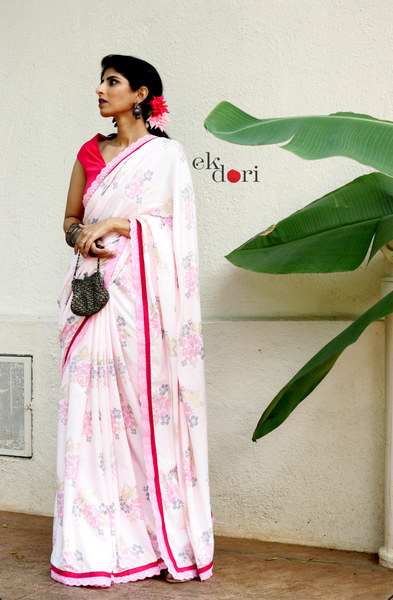 Buy Designer Saree Online : Vintage Queen Cotton Saree