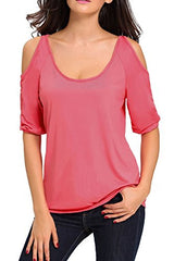Cut Out Shoulder Top - Girleygirlz