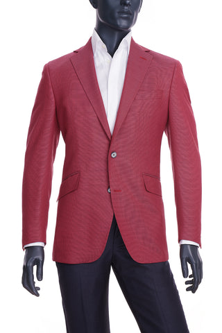 Men's Magenta Blazer | Coppley | Haberdasher & Co. | Vancouver, BC