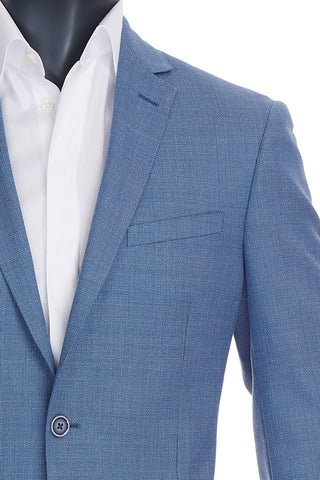 Men's Light Blue Blazer | Paul Betenly | Haberdasher & Co. | Vancouver, BC