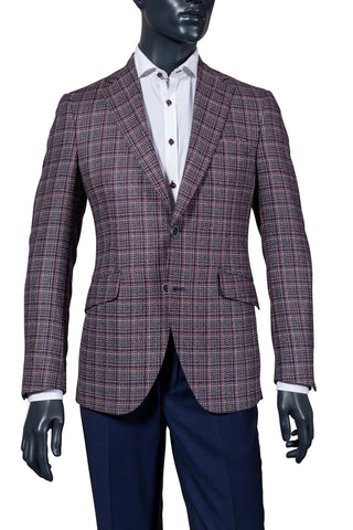 Men's woven sport coat. Coppley
