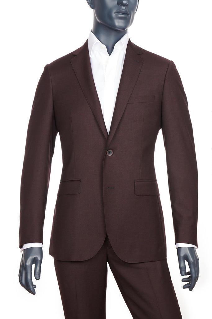 Men's Burgundy Suit | Paul Betenly | Haberdasher & Co.