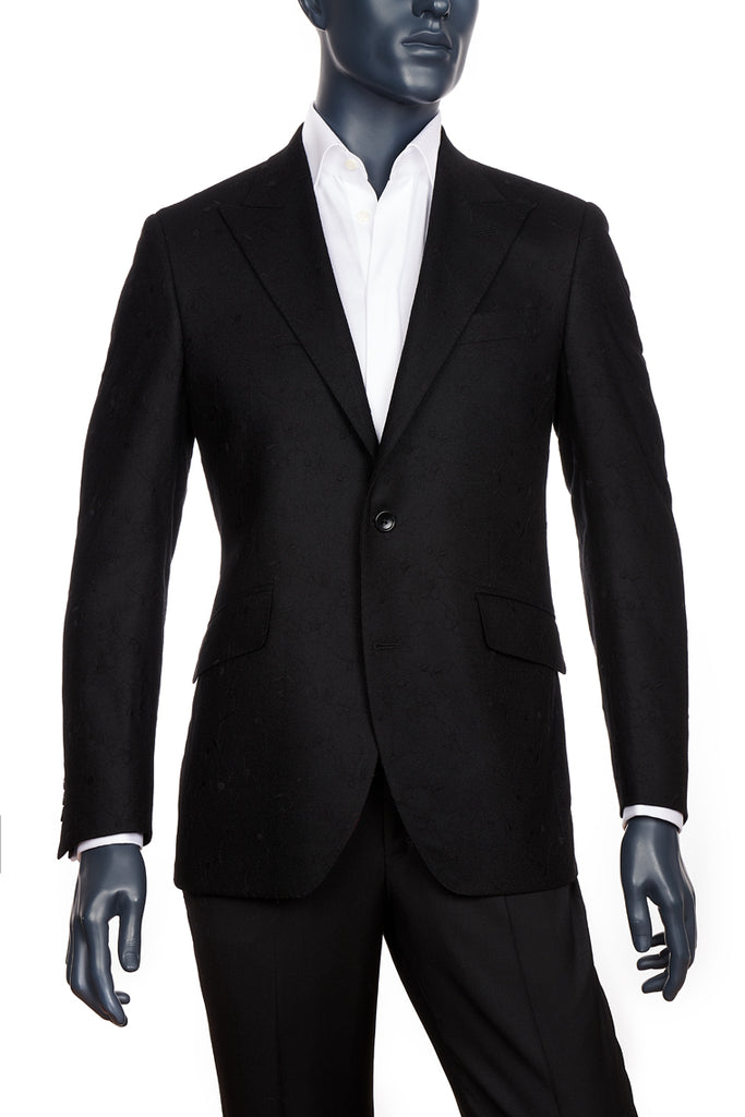 Men's Formal Black Blazer | Coppley