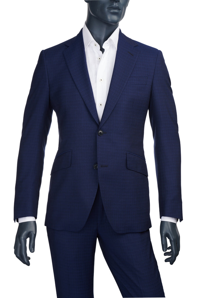 Men's Dark Blue Suit | Coppley | Haberdasher & Co. | Vancouver, BC