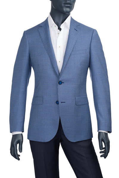 Men's Paul Betenly Blue Birdseye Sport Coat