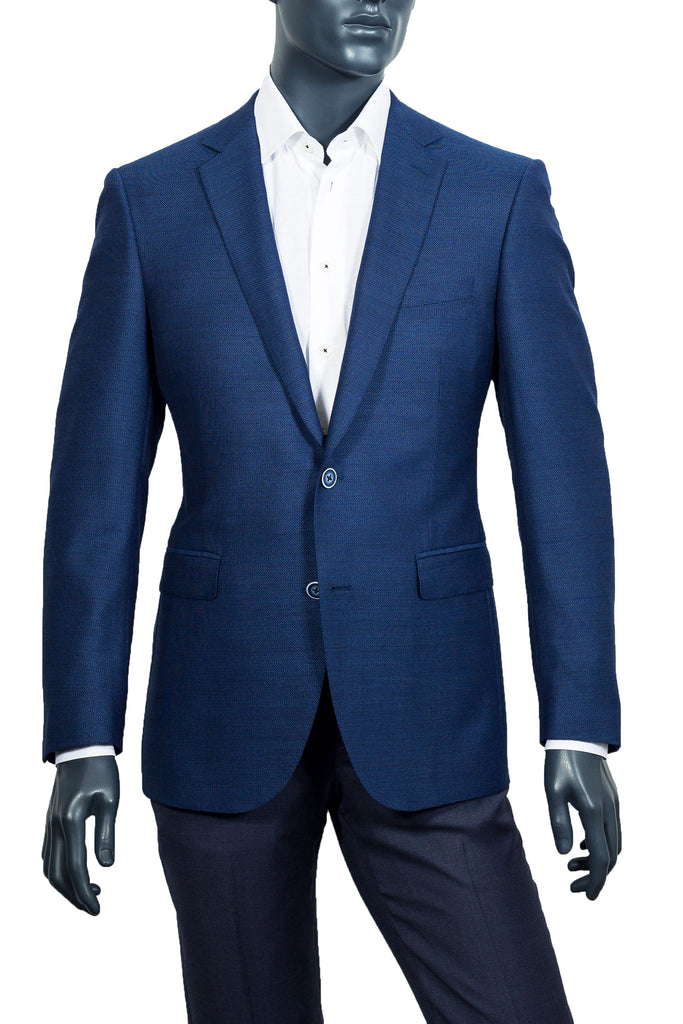 Men's Navy Blue Blazer - Paul Betenly