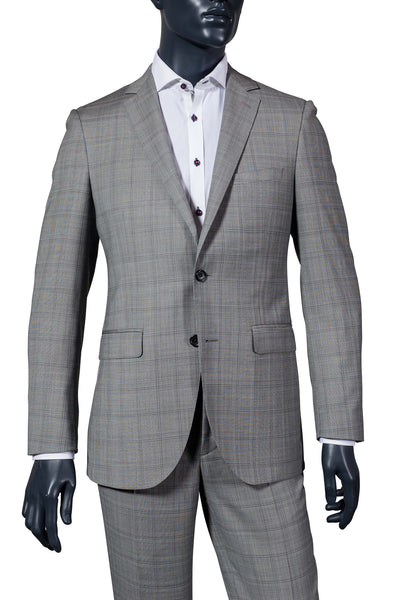 Grey Plaid Suit | 3 LEFT!