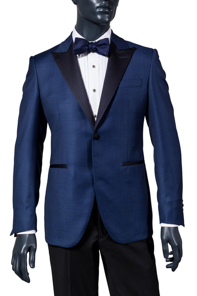 Men's Navy Tuxedo. Men's Navy Dinner Jacket. Men's Tuxedo. Vancouver Men's Suits