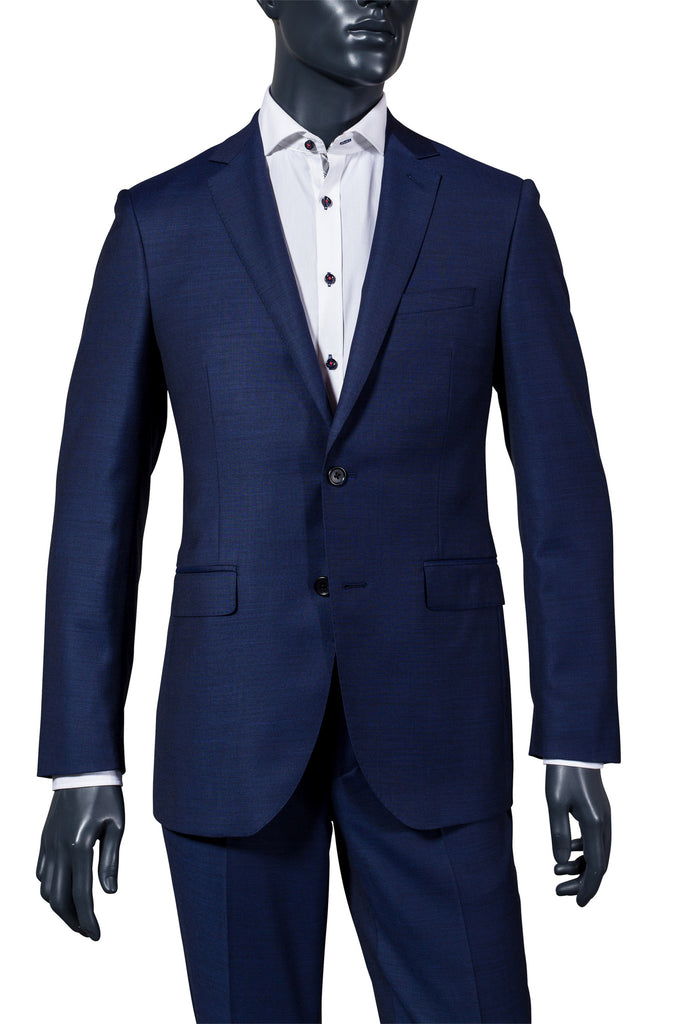 Men's Royal Blue Suit. Vancouver Men's Suits