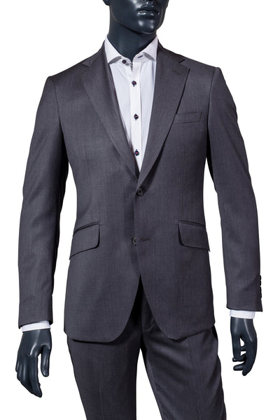Men's Mid-Grey Suit | Coppley | Haberdasher & Co. | Vancouver, BC