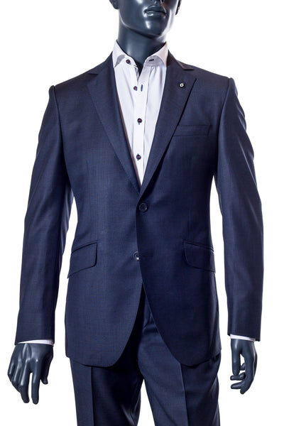 Men's Navy Suit. Coppley. Vancouver Men's Suits
