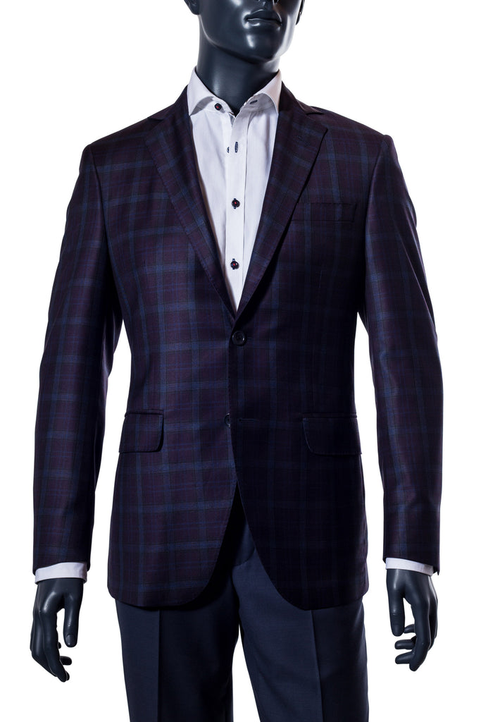 Purple & Navy Plaid Sport Coat | SOLD OUT!