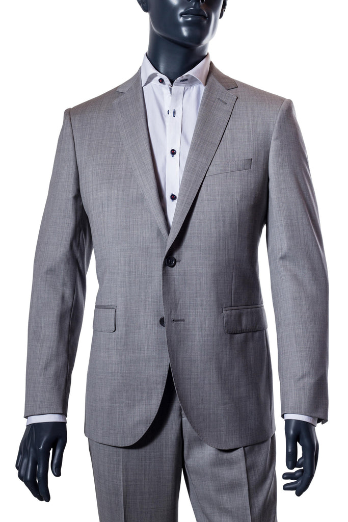 Men's Light Grey Suit - Paul Betenly