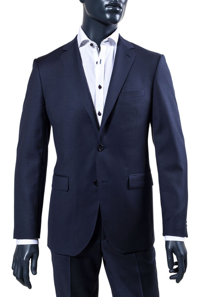 Men's Basic Blue Suit | Paul Betenly | Haberdasher & Co. | Vancouver, BC