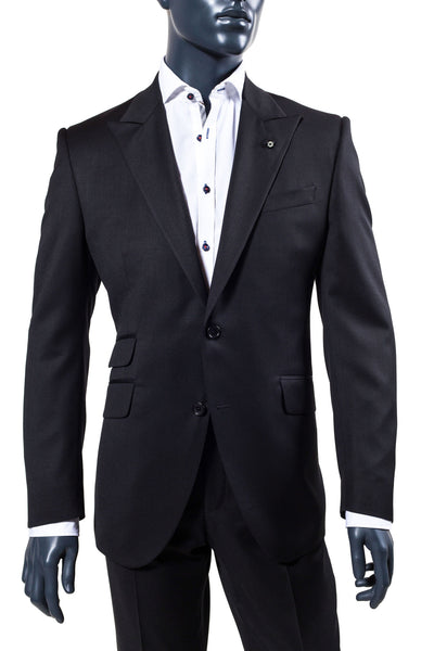 Men's Black Suit. Men's Suits Vancouver.