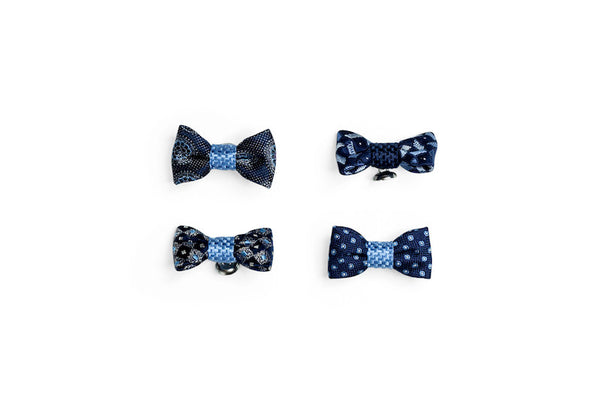 DION Silk Lapel Bow