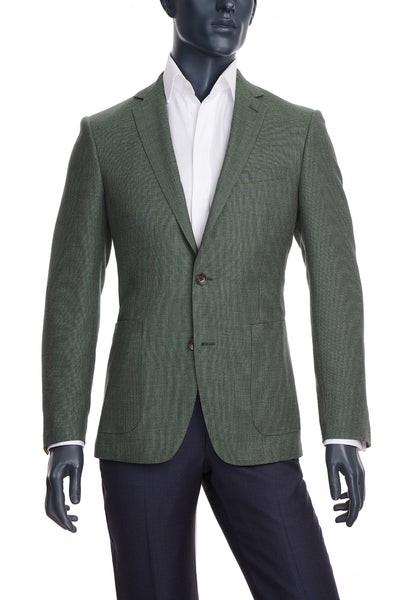 Men's Olive Green Blazer | Paul Betenly | Haberdasher & Co. | Vancouver, BC