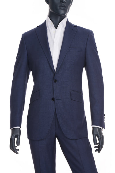 Men's Mid-Blue Suit | Coppley | Haberdasher & Co. | Vancouver, BC