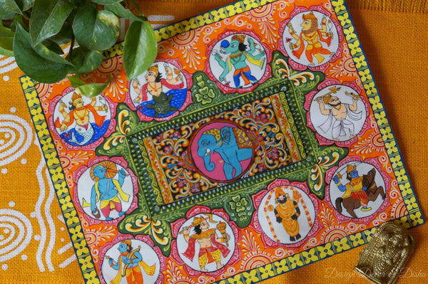 tradition of painting from Orissa