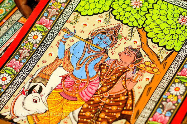 pattachitra art krishna