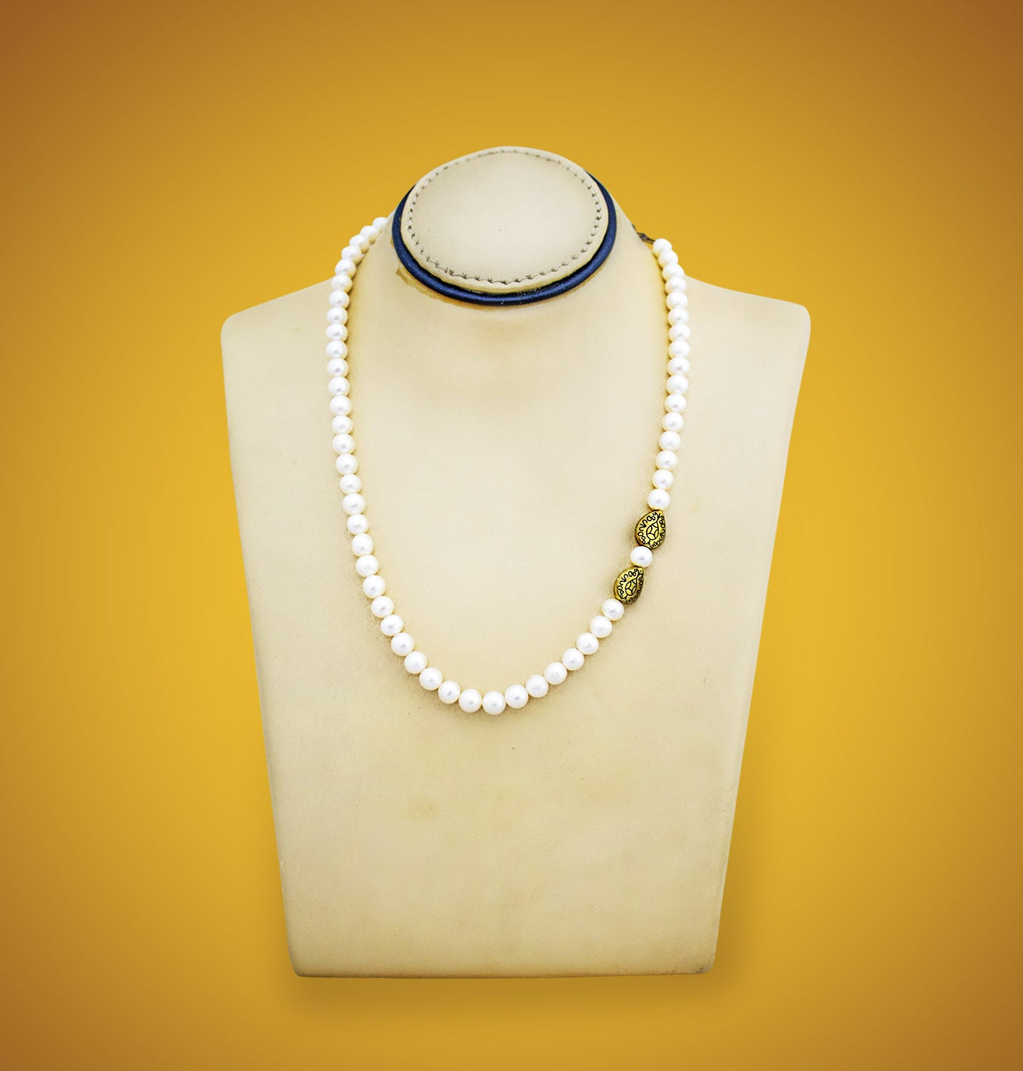 Freshwater pearl side pendant necklace devotionalstore freshwater pearl side pendant necklace mozeypictures Images
