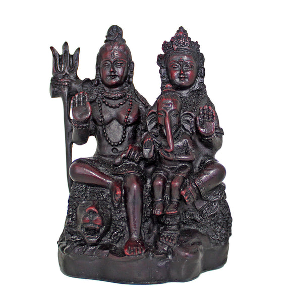 Quirky Gifts Happy Home Decor Now Online In India: Shiva Parvati & Ganesha Idol