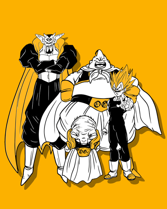 Team Majin tee