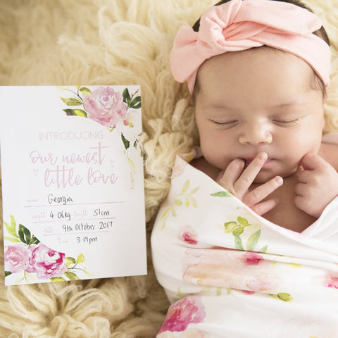 Baby Milestone Cards |  Luxe Collection |  Wanderlust