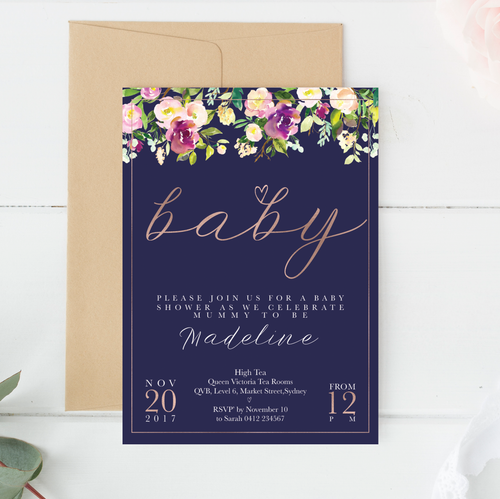 Invitations // Digital Printable // Regency Stylish Baby Milestone Cards + Baby Announcement Baby Wraps + swaddles - - AfterPay - Free Shipping - lovepaperink.com.au