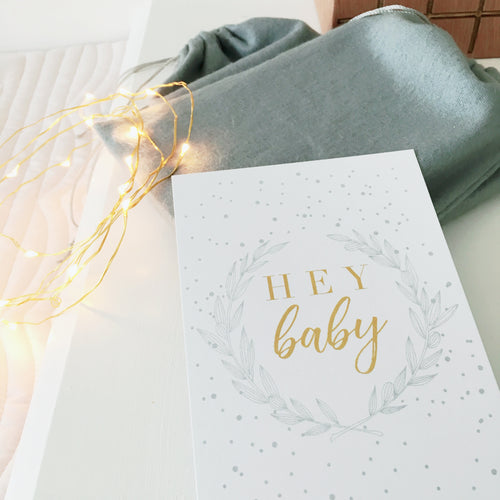 Baby Milestone Cards |  Luxe Collection |  Winter Snowflake