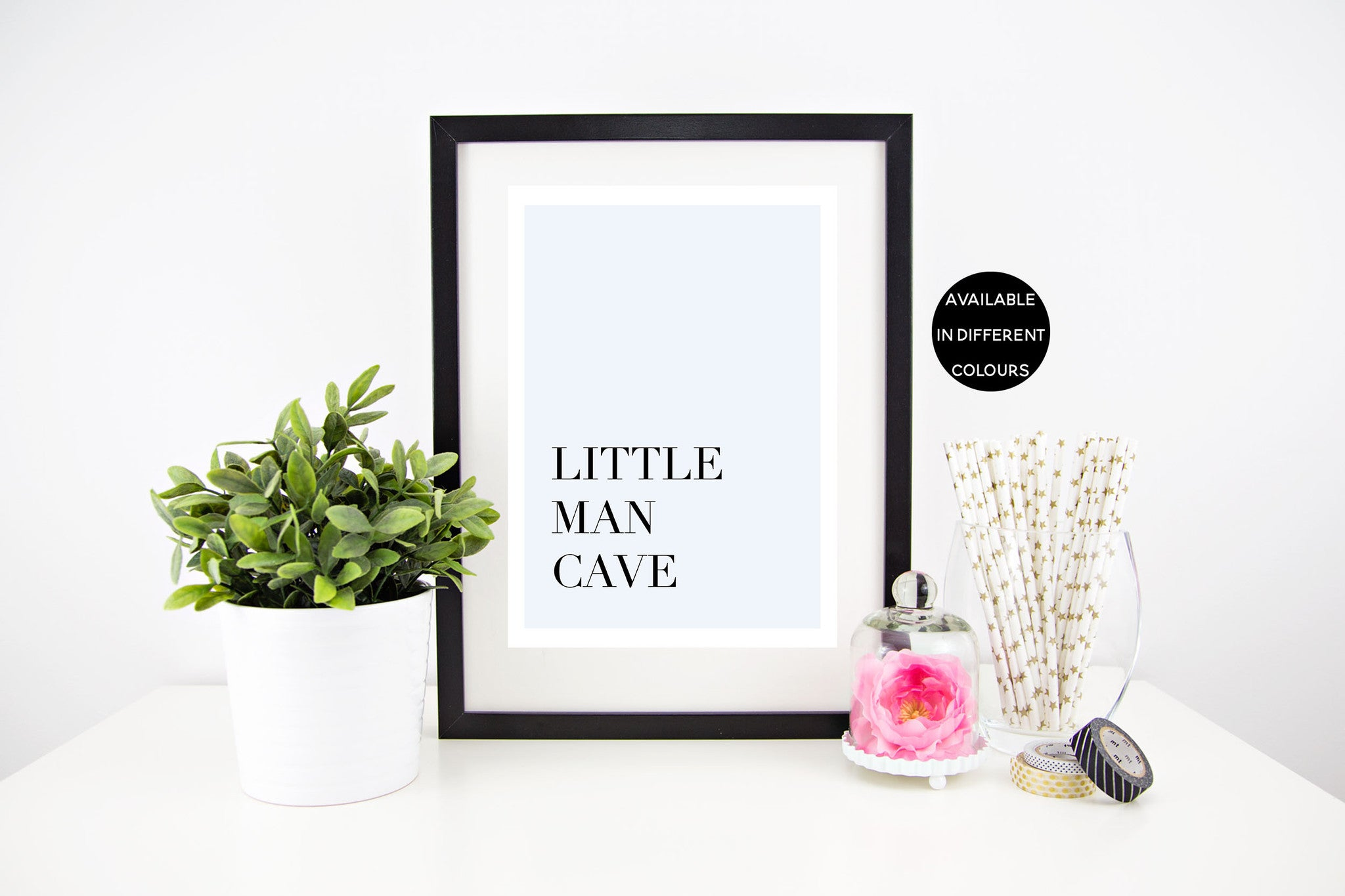 Little Man Cave - Different Colours Available - Stylish Baby Milestone Cards + Baby Announcement Baby Wraps + swaddles. Global Shipping lovepaperink.com.au